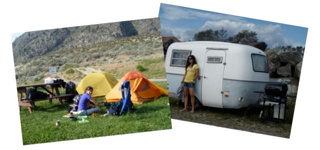 camping au Québec mode