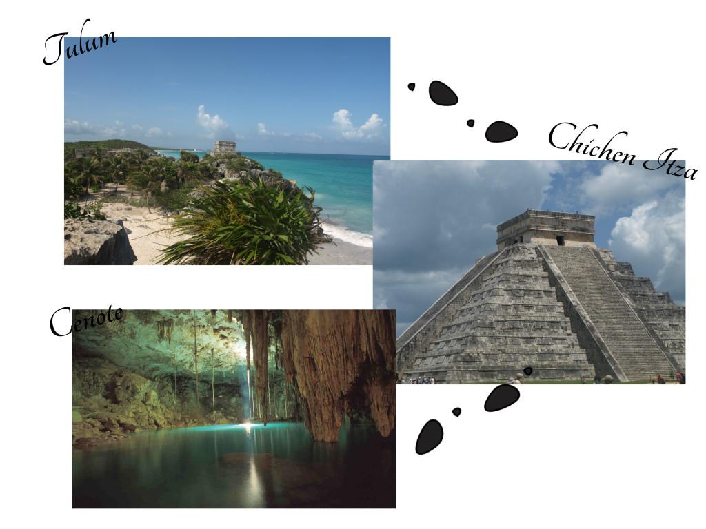 itinéraire yucatan maya