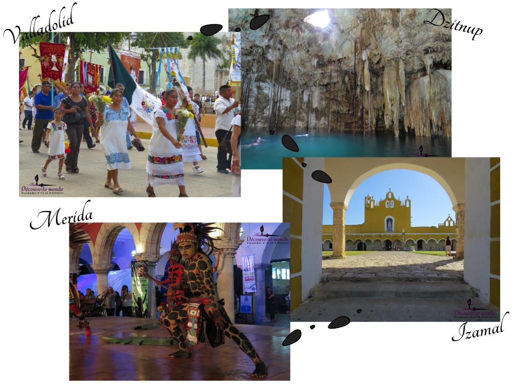 itinéraire au yucatan ouest