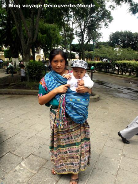 habit traditionnel guatemala