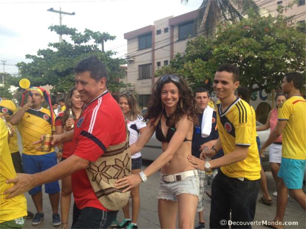 coupe du monde colombie fiesta