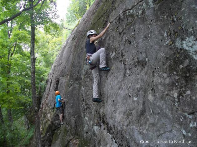 escalade de roche au québec