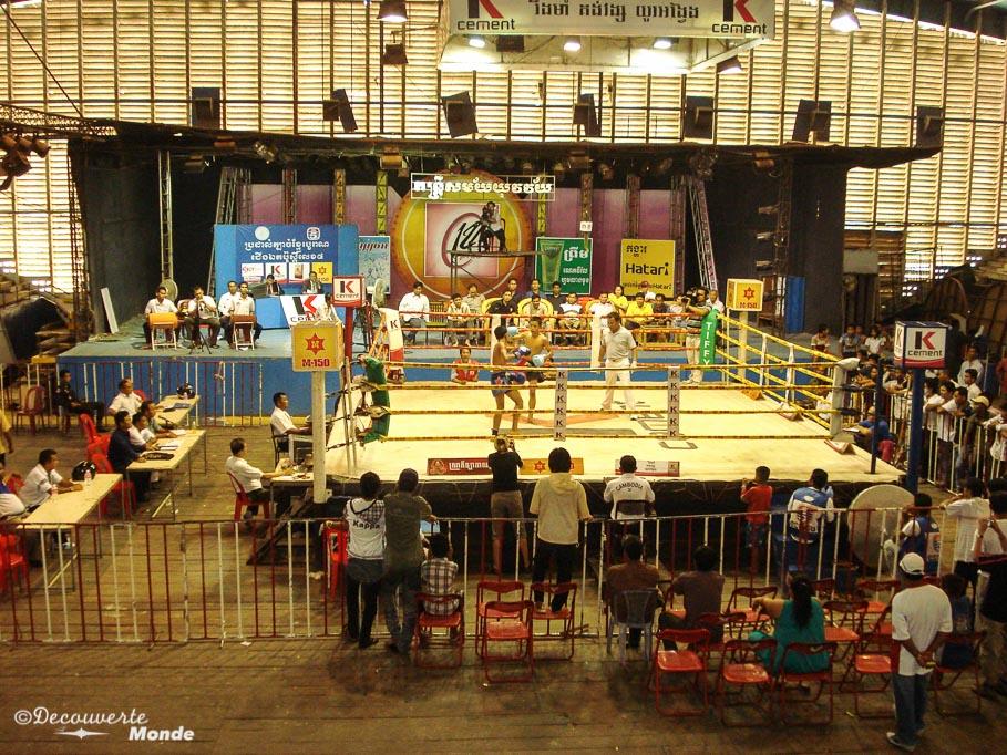 khmère boxe que faire au cambodge