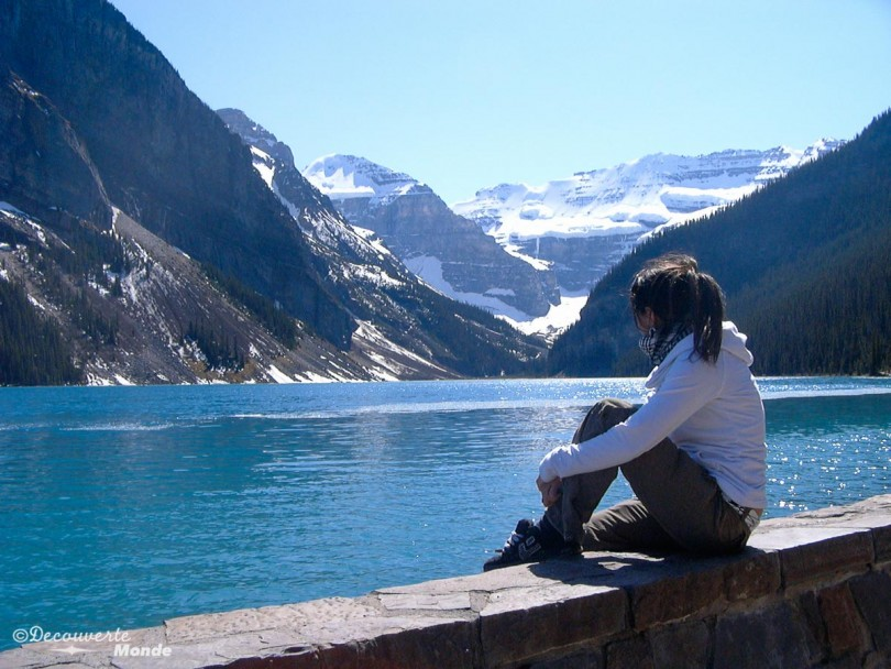 lac louise ouest canadien