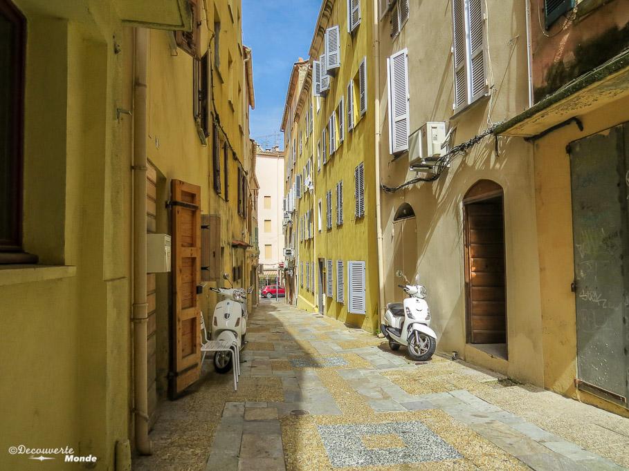 vieille ville Ajaccio