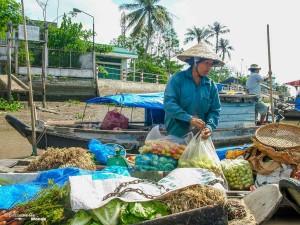 marché flottant vietnam delta