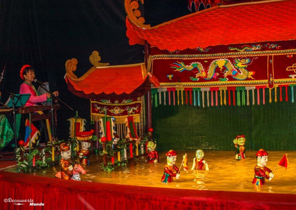 water puppet show que voir au vietnam