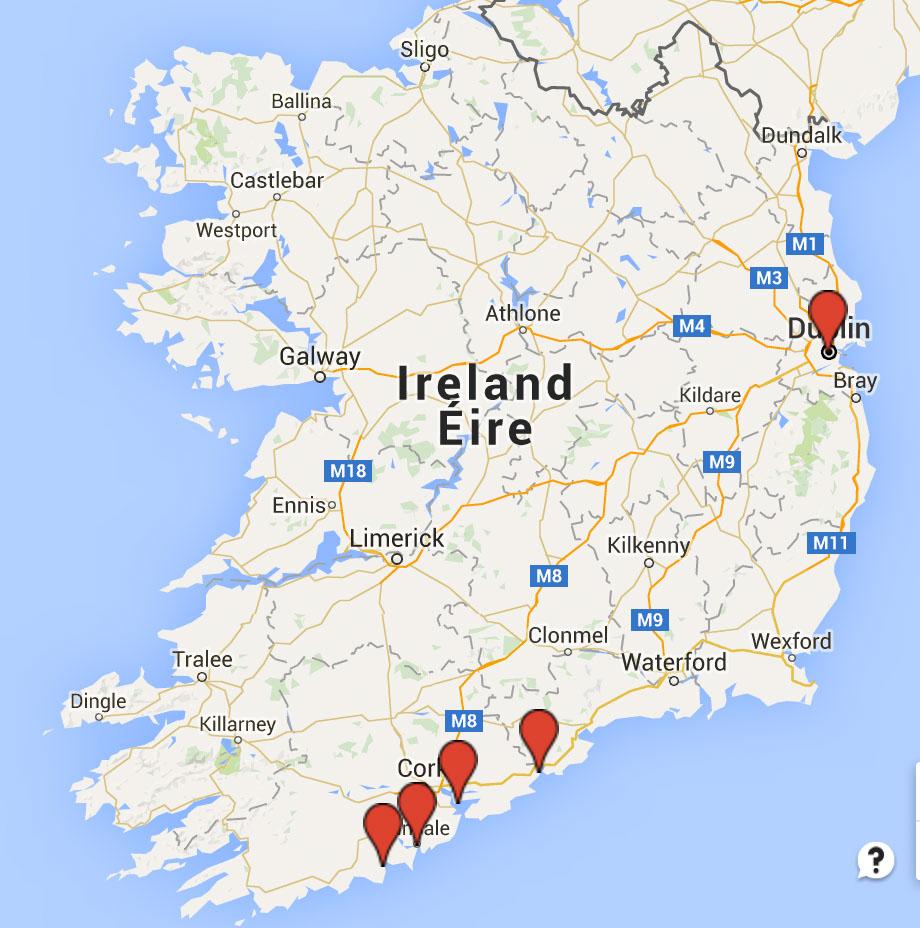 irlande itinéraire voilier