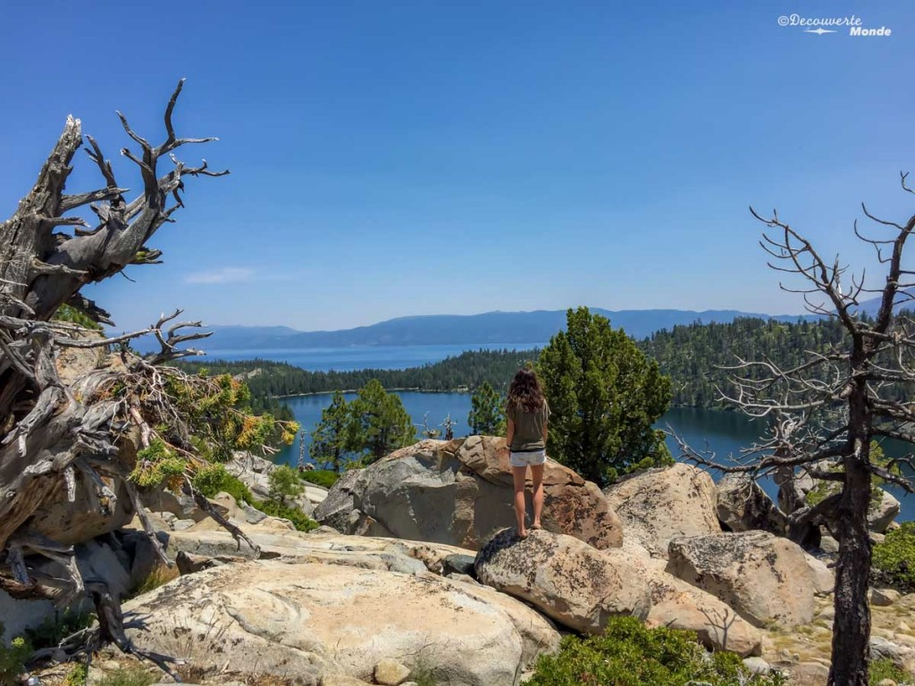 tahoe lake californie road trip