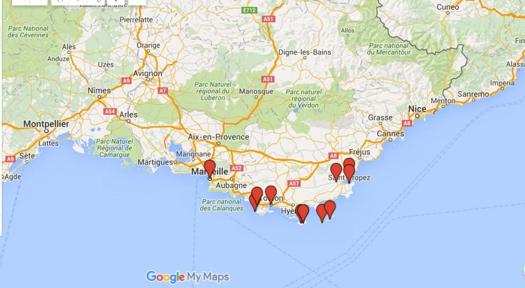 itinéraire voyage en voilier en méditerranée