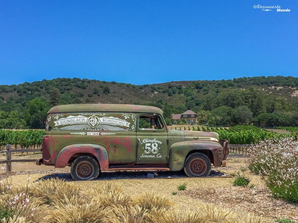 sonoma vin californie