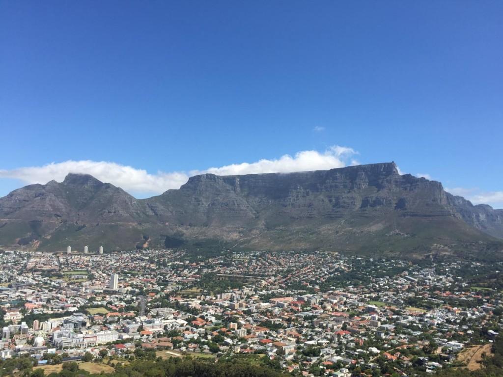 montagne de la table visiter l'afrique du sud