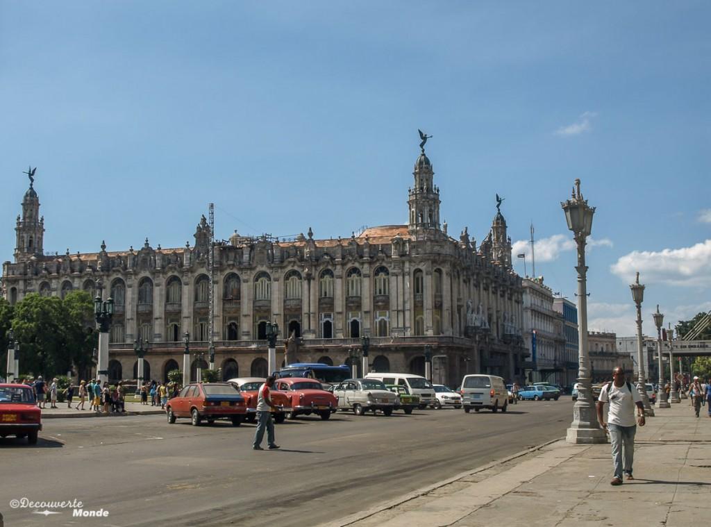 Bâtiment vieille ville Havane