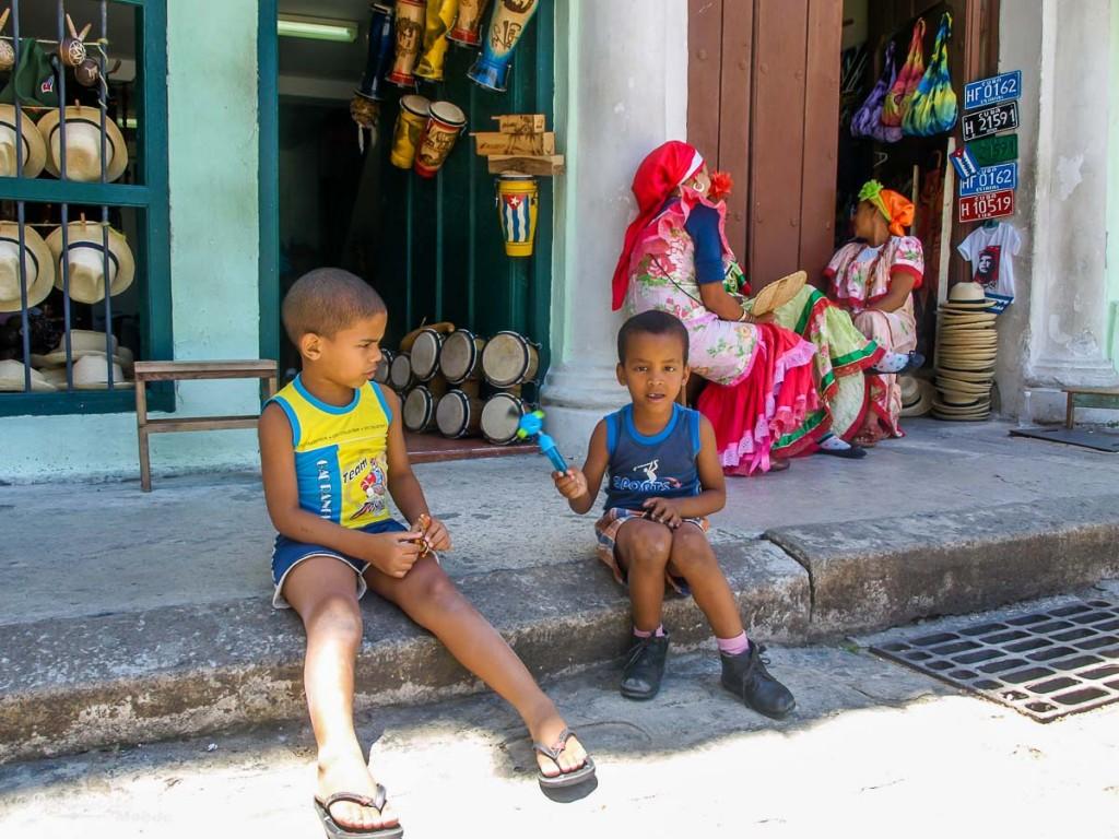 enfant Cuba