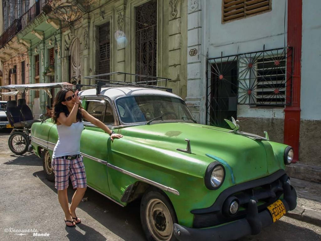 La Havane voiture cubaine