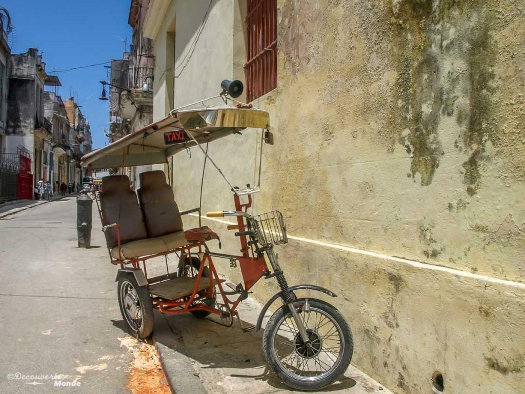 tuktuk Cuba