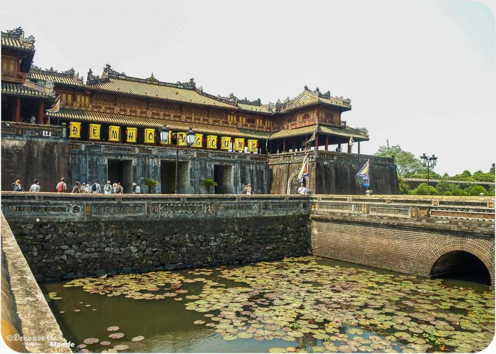 citadelle Hue au Vietnam