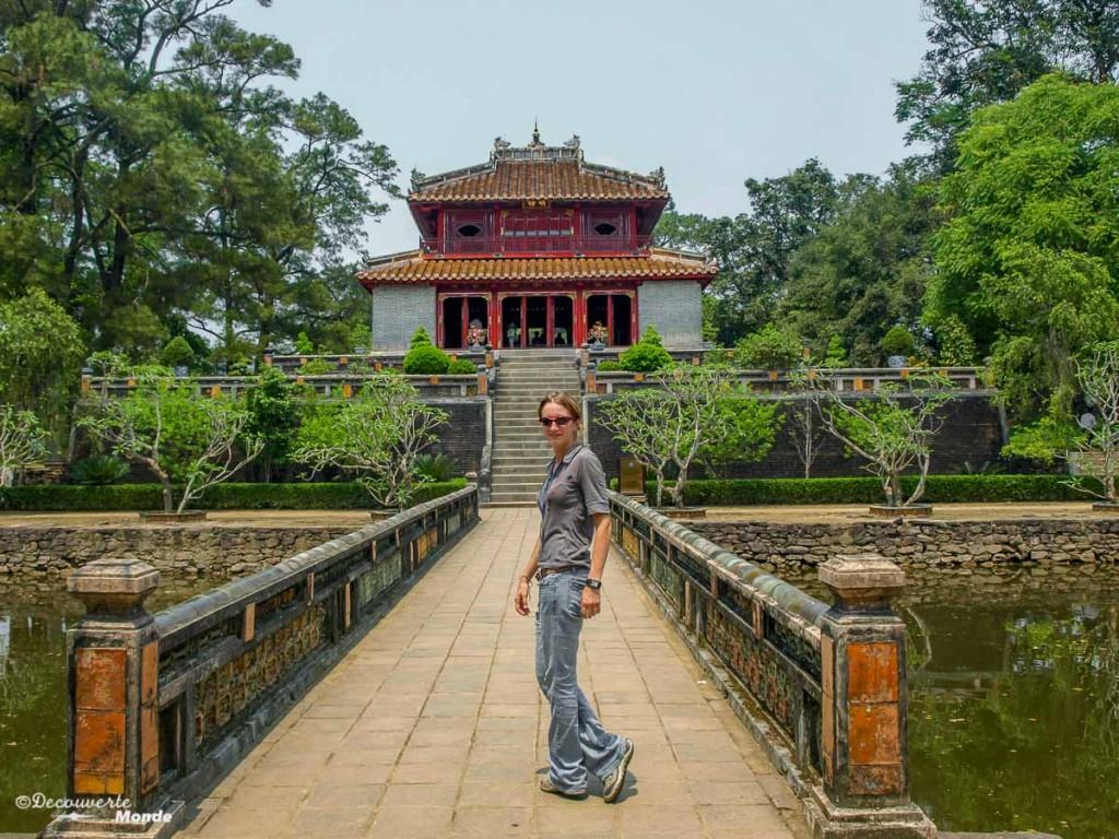 Tombeau royal Hue voyage Vietnam