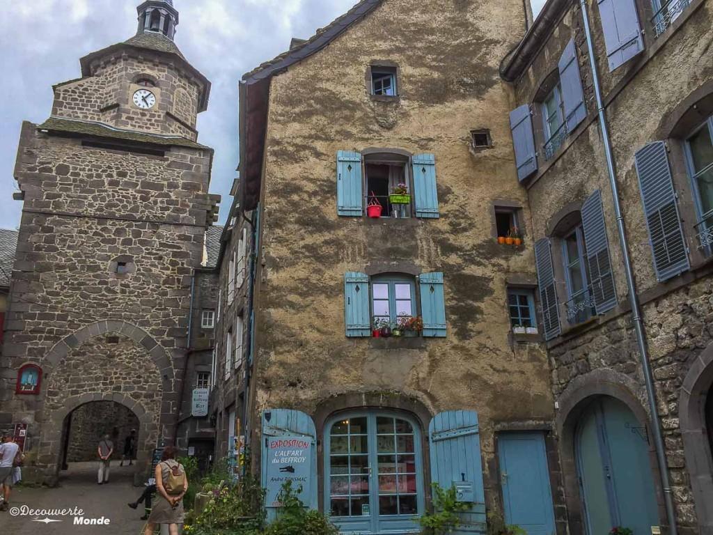 Besse région de l'Auvergne