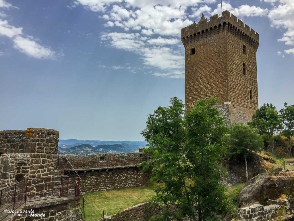 forteresse Polignac Auvergne en France