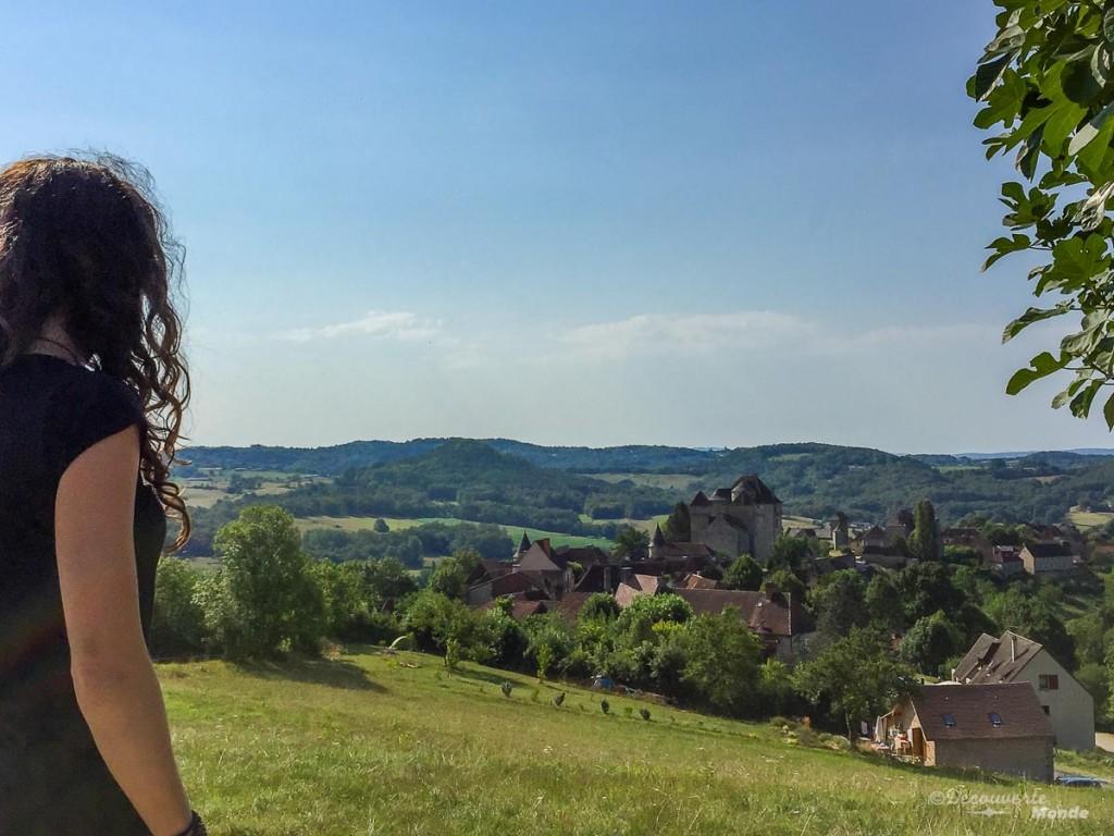 Curemonte itinéraire Limousin