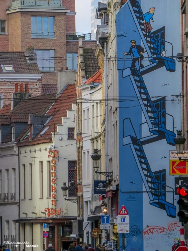 que voir à Bruxelles BD