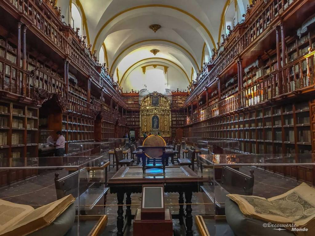 bibliothèque puebla au mexique
