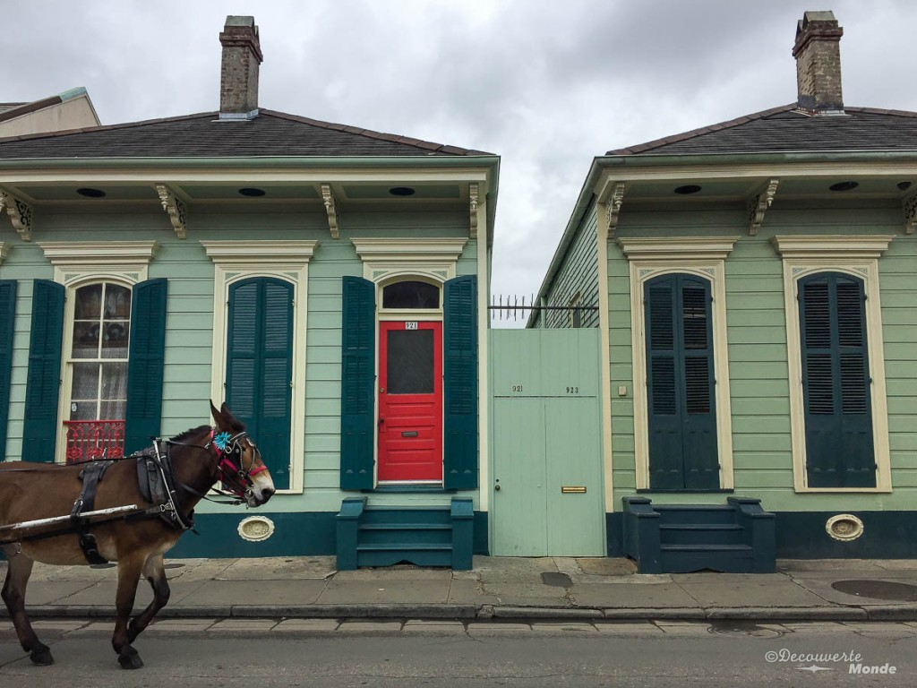 Carré francais Nouvelle-Orleans