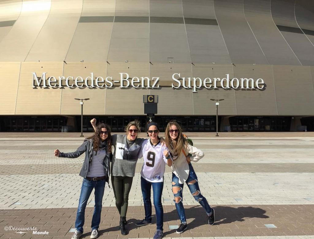 superdôme que visiter Nouvelle-Orleans