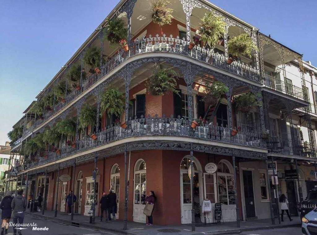 Vieux Carré francais visiter la Nouvelle-Orleans