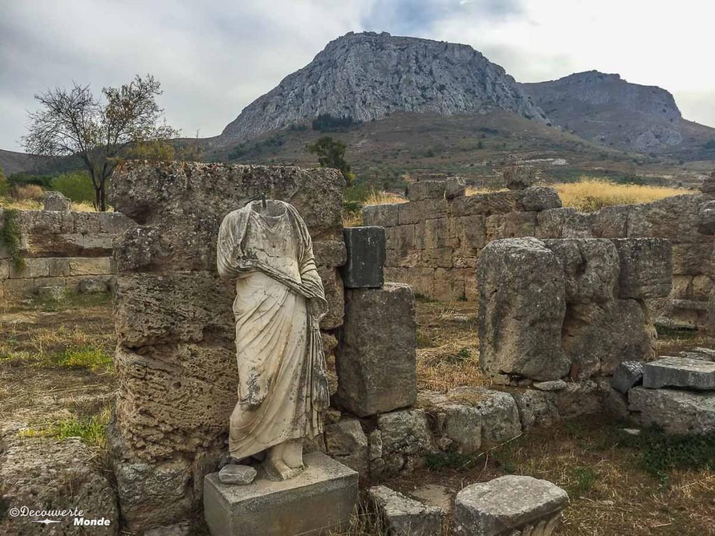 corinthe où aller en Grèce
