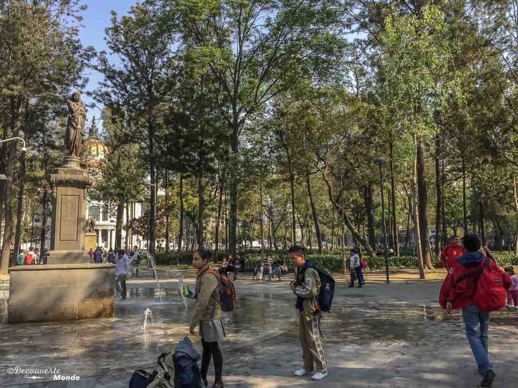 parc alemada mexico city