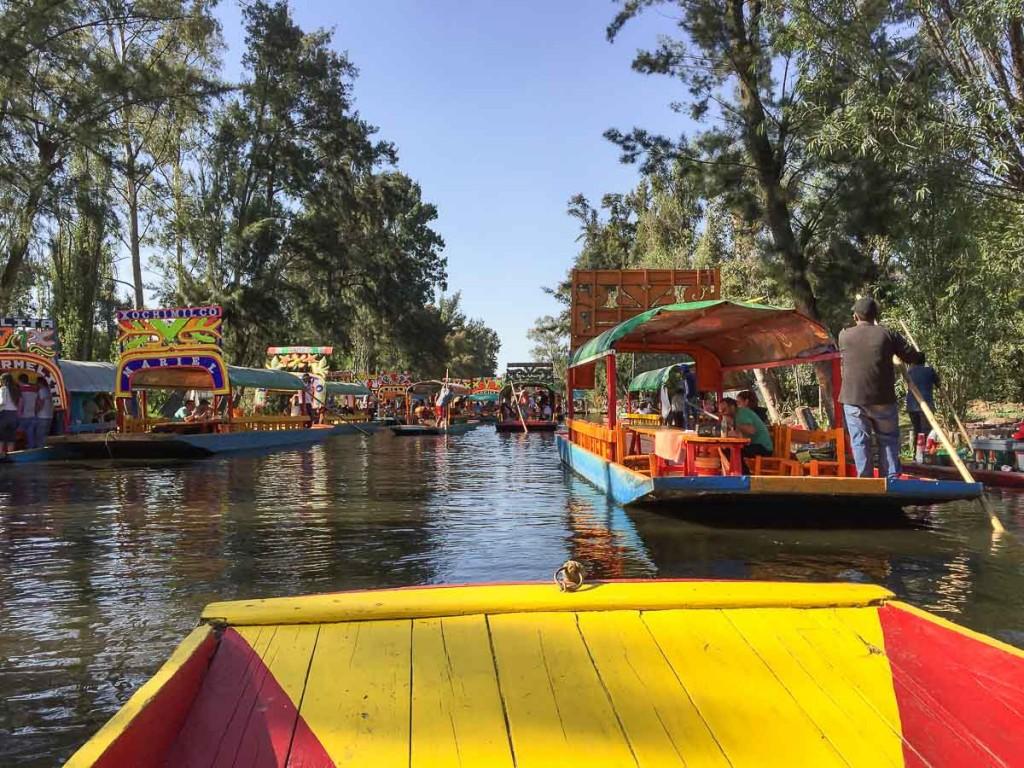 que faire à mexico city xochimilco