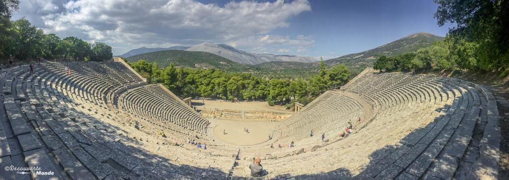 théâtre Epidaure Grèce