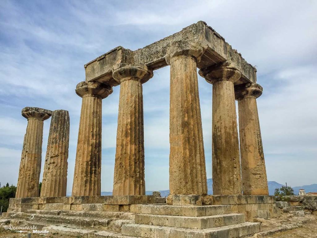 visiter la Grèce corinthe