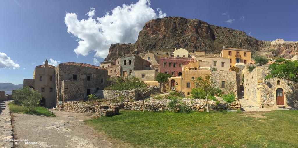 visiter la Grèce Monemvasia