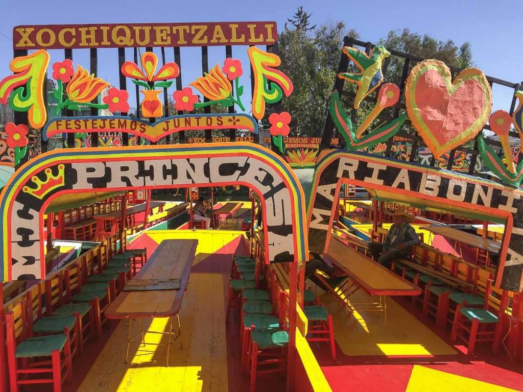 xochimilco visiter mexico city