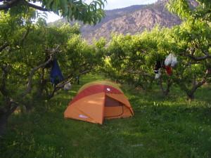type d'hébergement en camping
