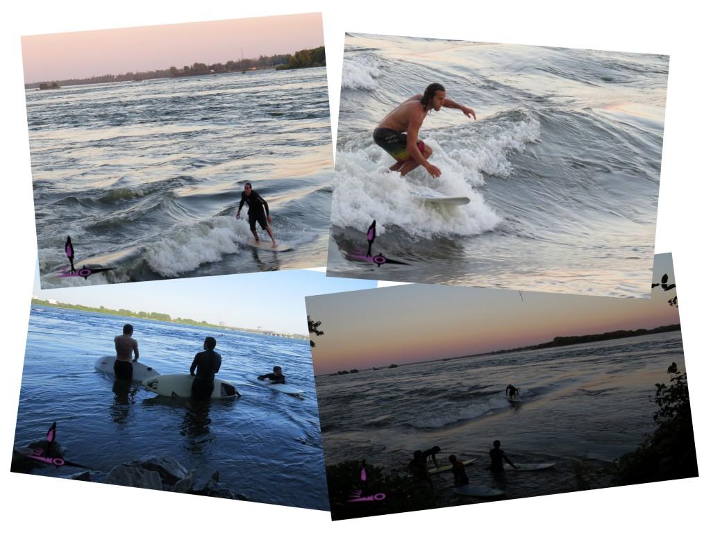 surf à montréal photos