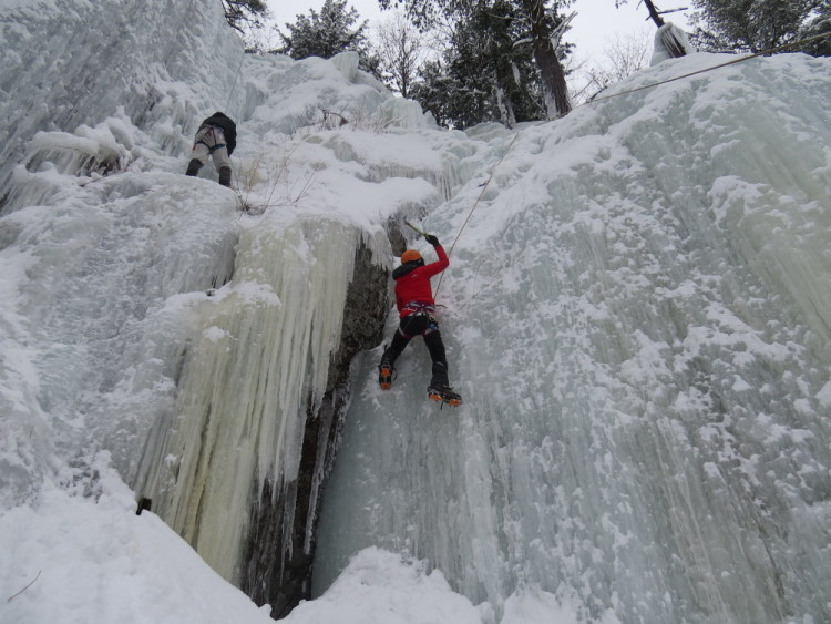 grimper glace