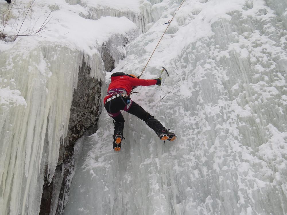 escalader la glace