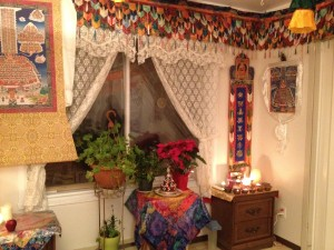 salle méditation bouddhiste