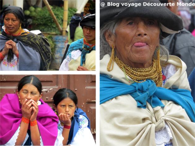 costumes traditionnels équateur