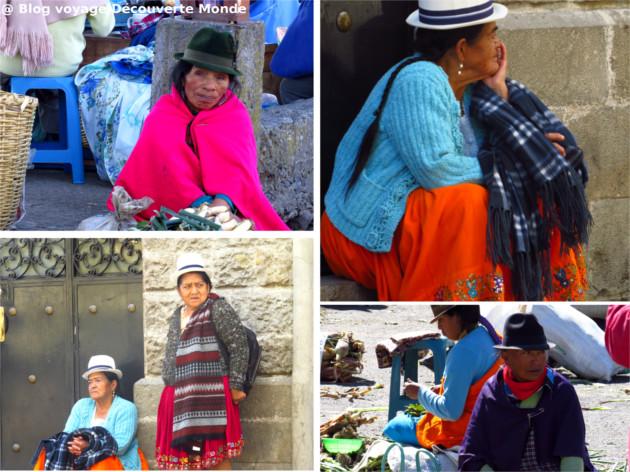 habits traditionnels équateur