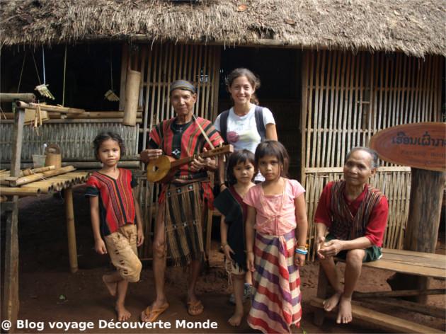 sud laos village traditionnel