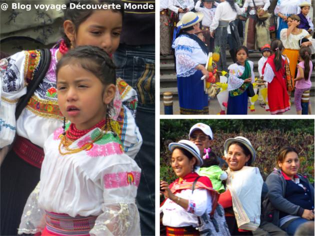 vêtements traditionnels Équateur