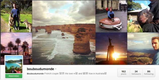 bouboudumonde instagram voyage