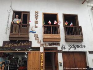 hôtel agua luna san gil