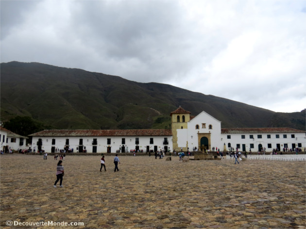 place centrale villa de leyva