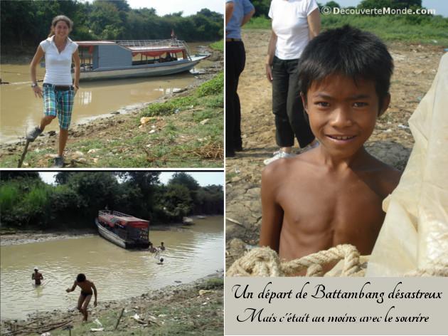 départ battambang mékong